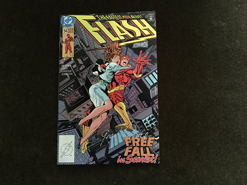 Signed Flash by artist Greg LaRocque