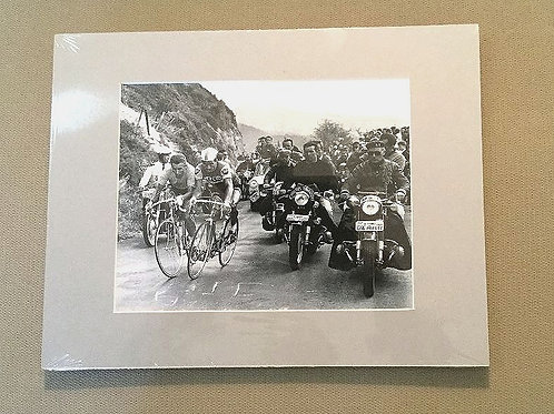 1964 Matted Tour De France Photo
