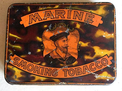 Old Marine Tobacco Tin