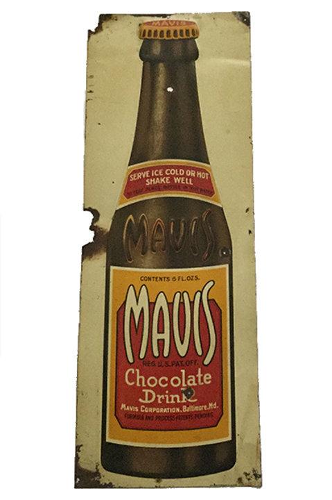 Very Old Mavis Drink Sign