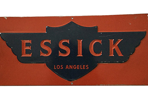 Vintage Essick Los Angeles Sign