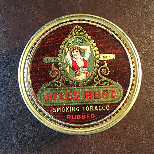 Vintage Dill's Tobacco Tin