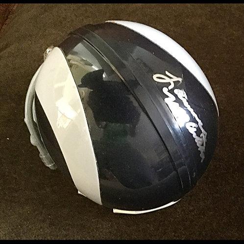 Lawrence McCutcheon signed Rams mini helmet