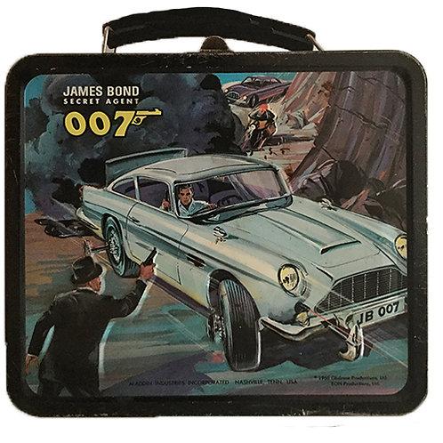 James Bond vintage lunchbox