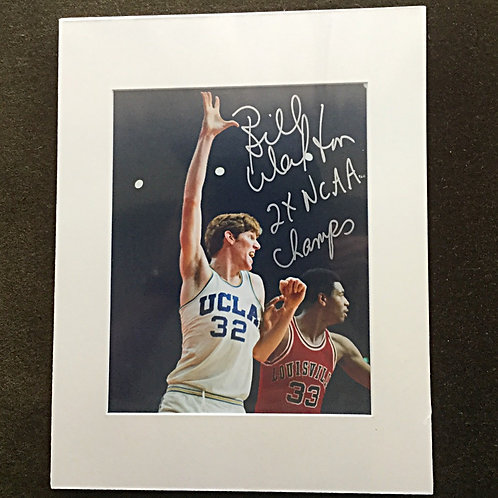 Bill Walton Signed 8x10