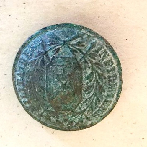 Antique French Military Button