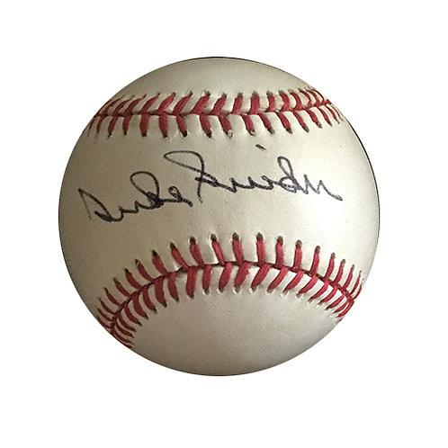 Duke Snider signed official NL ball