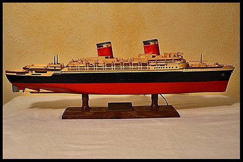 SS United States Ocean Liner Model