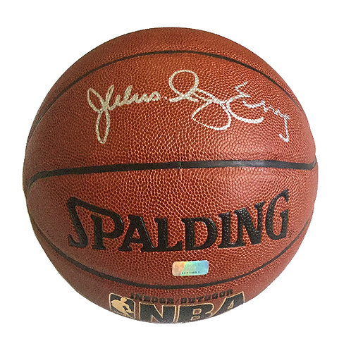 "Julius ""Dr J"" Erving Signed Basketball"