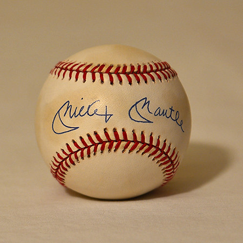 Mickey Mantle ball