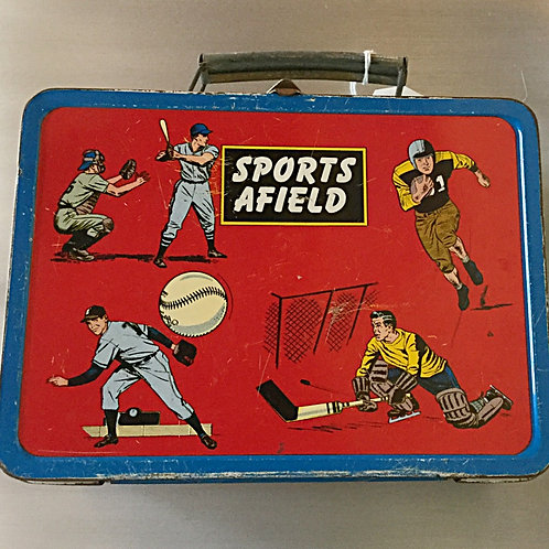 1950s Sports Afield Lunchbox