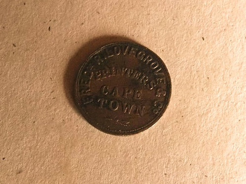 1855 Cape Town Newspaper Token