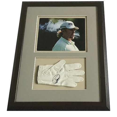 Miguel Angel Jimenez Signed Golf Glove with Photo