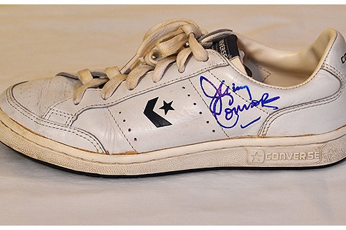 Jimmy Connors signed tennis shoe