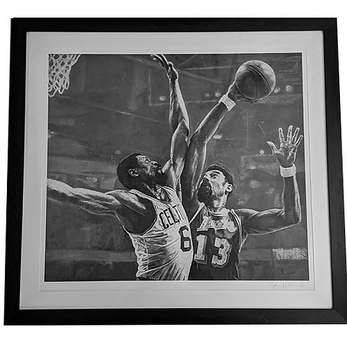 Bill And Wilt Artist Print Signed By The Artist