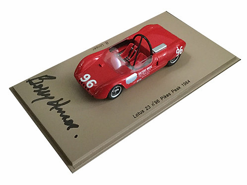 Bobby Unser signed Pikes Peak Hill climb racer