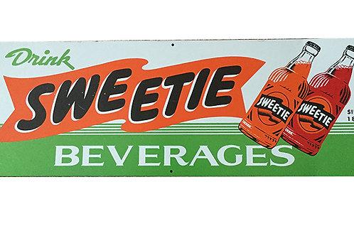 Vintage Sweetie Beverage Sign