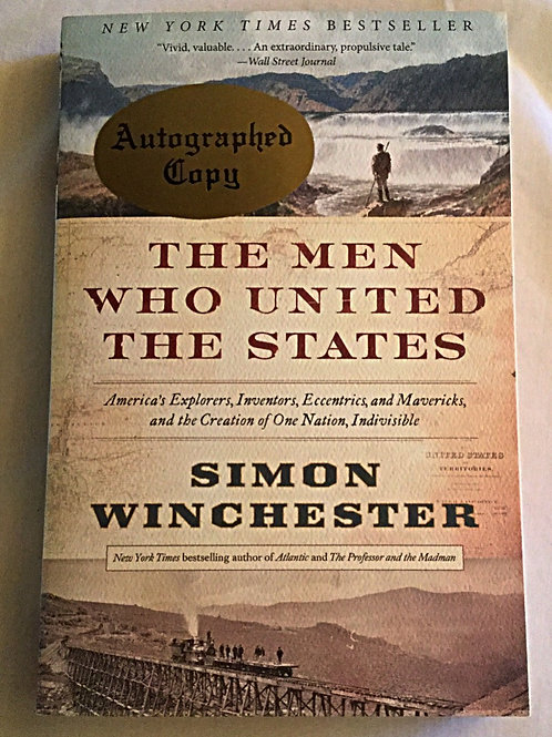 Signed Simon Winchester softback