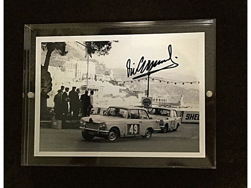 Vic Elford signed photo.