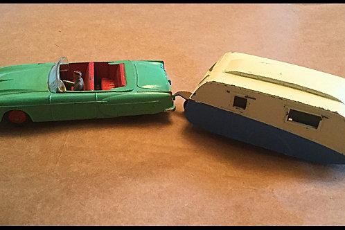 Dinky Packard and Caravan