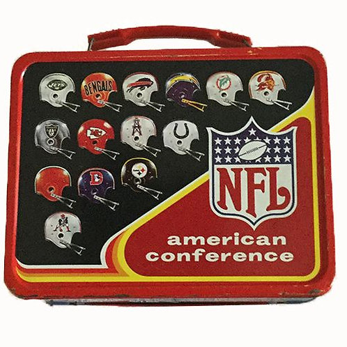 1976 Thermos Brand AFC/NFC Lunchbox