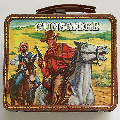 1973 Gunsmoke The TV Show Lunchbox