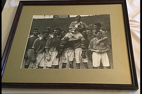Vintage Arsenal Framed Team Photo