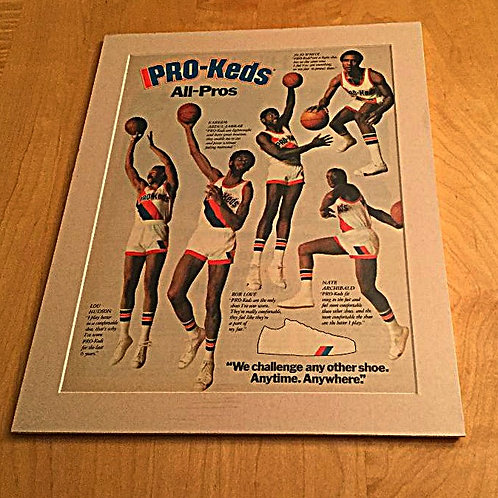 70s Pro Keds Matted Ad