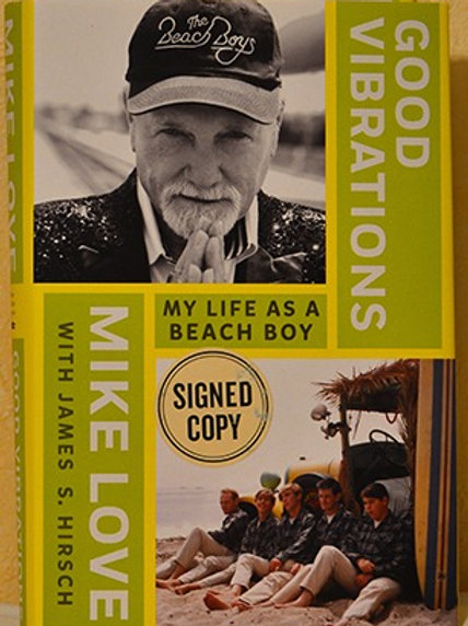 Signed Mike Love Good Vibrations