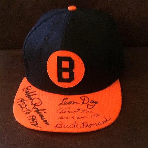 Baltimore Black Sox Signed Cap