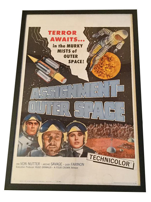 1962 Assignment Outer Space Movie Poster