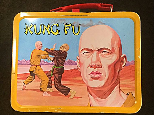1974 Kung Fu Lunchbox with Thermos
