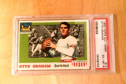 Topps 1955 All-American Otto Graham