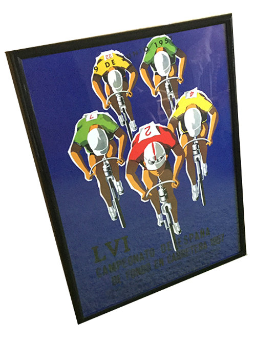 Spanish Cycling poster