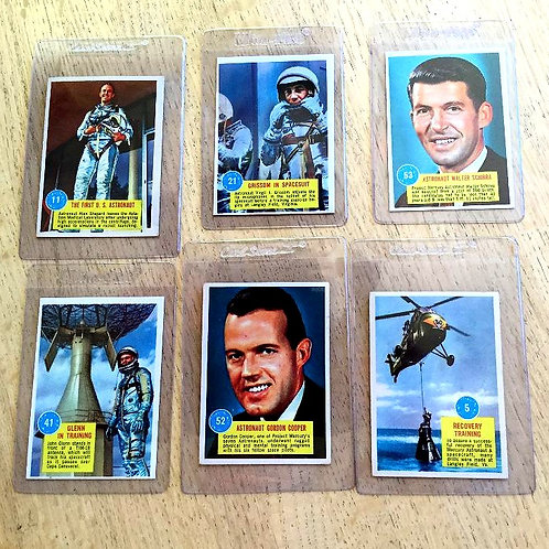 1963 Popsicle Space Cards