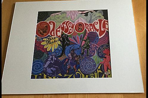 The Zombies Autographed LP Print