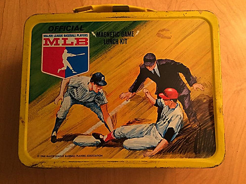 1968 Thermos MLB Magnet Game Lunch Box
