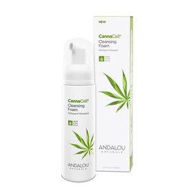 Andalou Naturals Cannacell Cleansing Foam