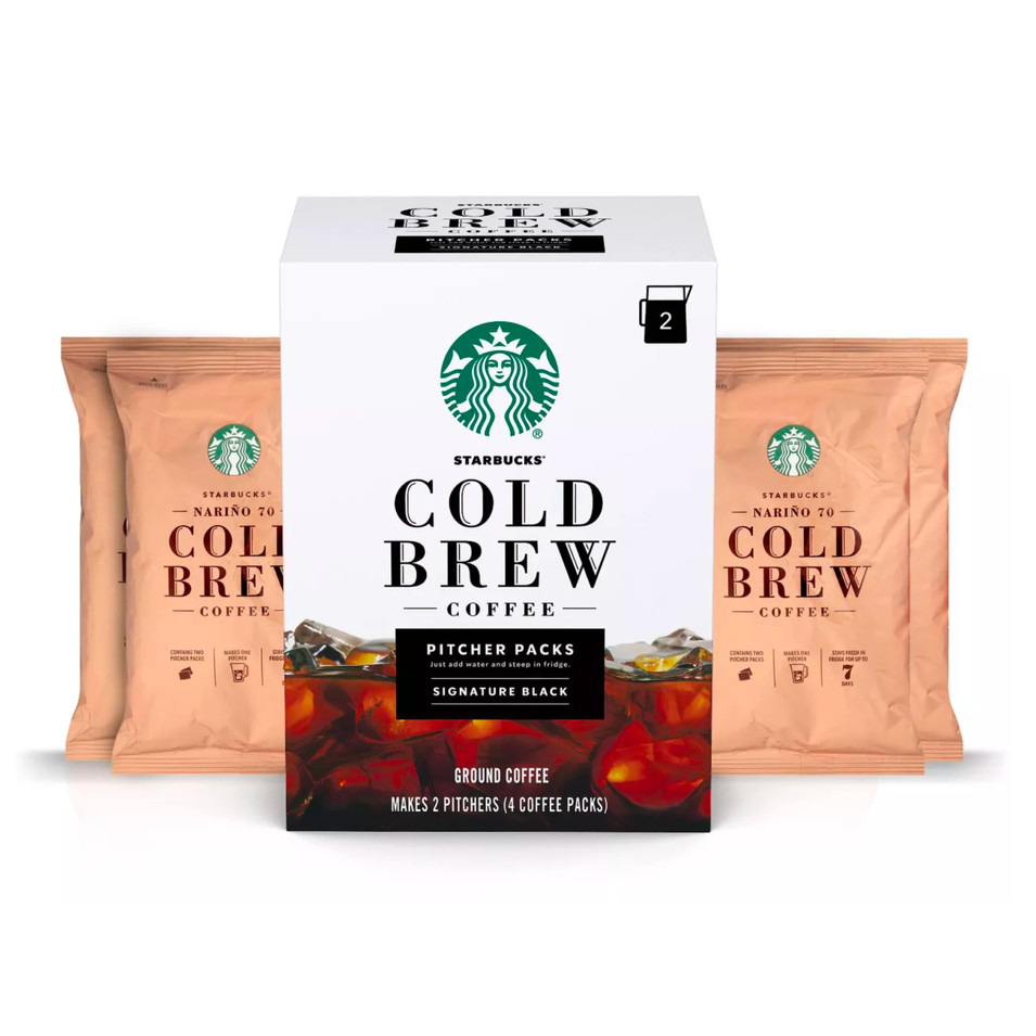 Starbucks Cold Brew Pitcher Packs