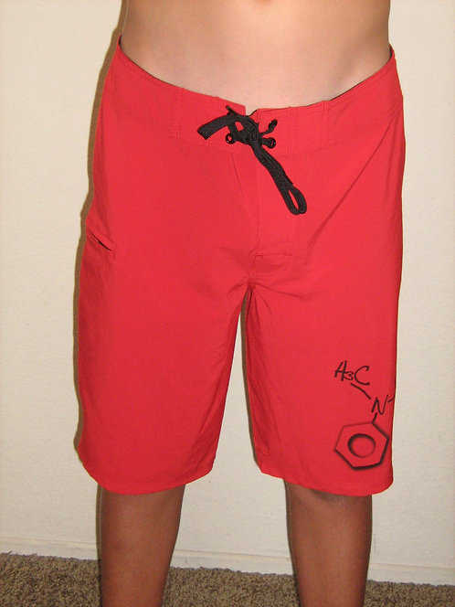 DMA Chemical Shorts - Red