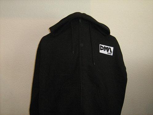 DMA Zip Hoodie - Black