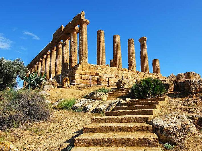 Tempio di Giunone (o di Hera) Valle dei Templi Agrigento