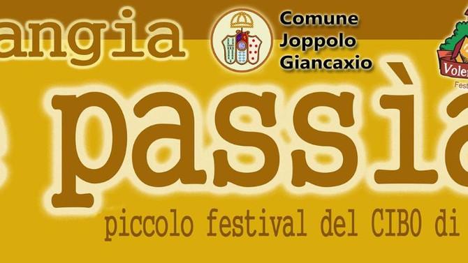 """""""Mangia e passia"""" a Joppolo Giancaxio, piccolo festival che celebra l'enogastronomia siciliana"""