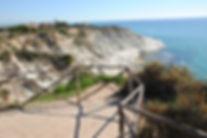scala dei turchi Porto Empedocle