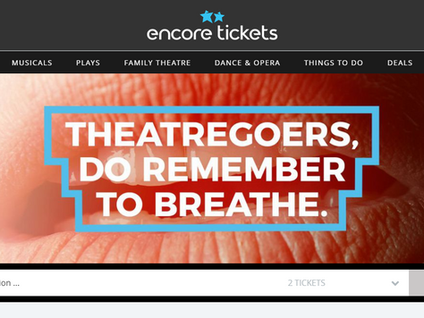 New EncoreTickets site launches