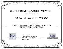Certificación de Nutrición Deportiva