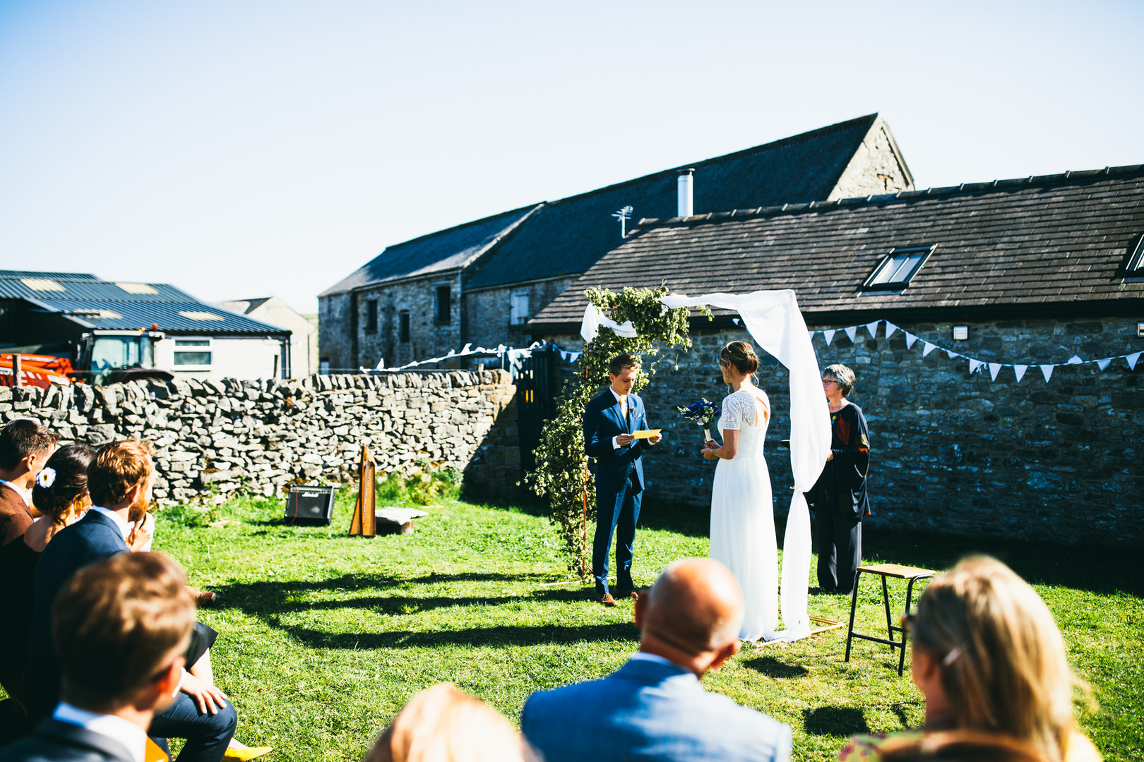 Informal ceremony in the grounds