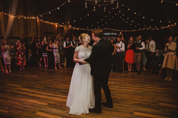 First dance...