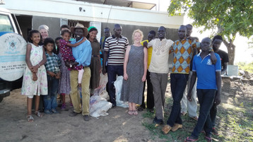 Back on US soil from South Sudan. The most amazing thing about all this is that the Lord did it all!