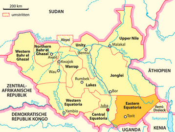 The  Gospel NEWS leapt from Eastern Equatoria to Rumbek, Lake State, South Sudan